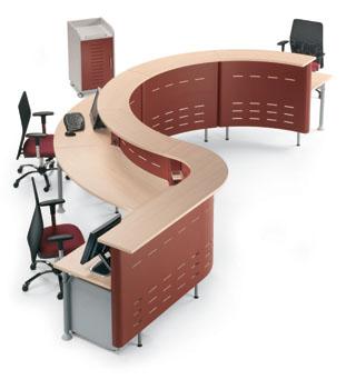Muebles de recepcion madrid issa for Muebles de oficina 28007