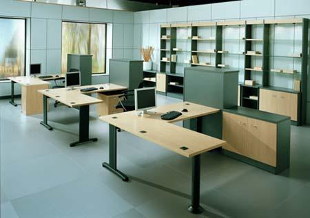 Mesas de oficina madrid - Mesa de trabajo metalica ...